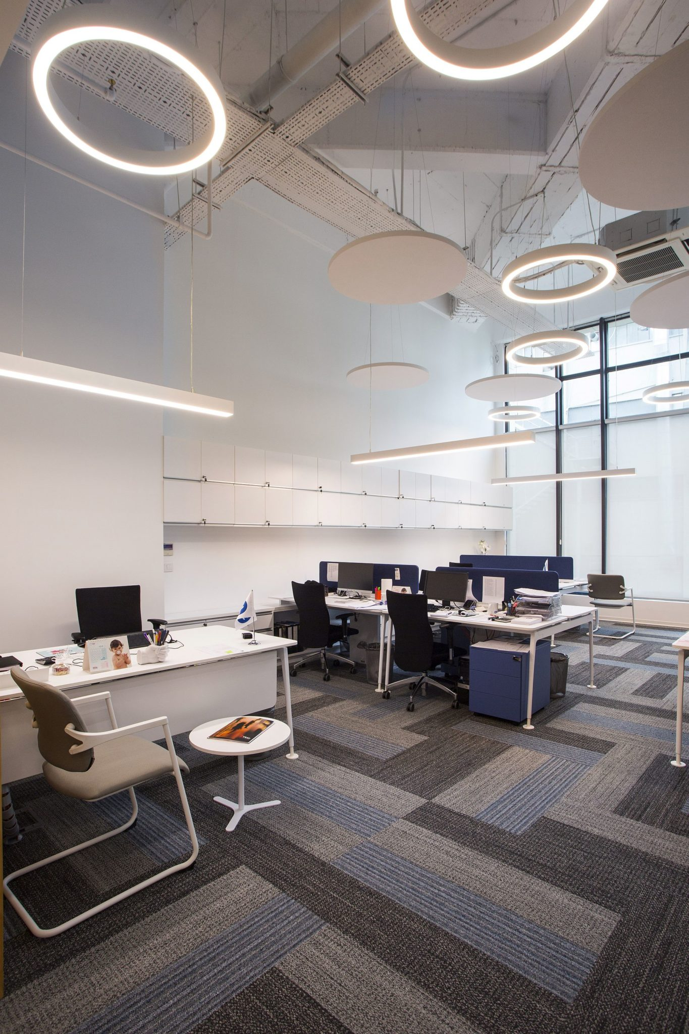 Burda bebek s office in istanbul polished with a playful - Interior smart lighting ...
