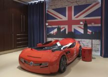Kids-room-with-race-car-bed-Limited-Edition-Red-Componibili-storage-unit-and-Union-Jack-wall-art-in-the-backdrop-217x155