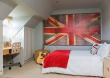 Large-canvas-featuring-the-faded-image-of-a-Union-Jack-brings-color-to-this-small-kids-room-217x155