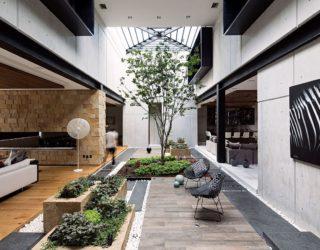 Ro House: Stunning Series of Covered Terraces Usher in Green Freshness