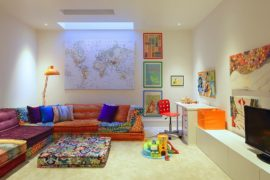 Chic Adaptability: 10 Kids' Rooms with Versatile Modular Seating