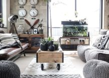Modern-industrial-living-room-with-monochromatic-color-scheme-and-coffee-table-on-wheels-217x155