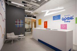 Burda Bebek's Office in Istanbul: Polished with a Playful Splattering of Color