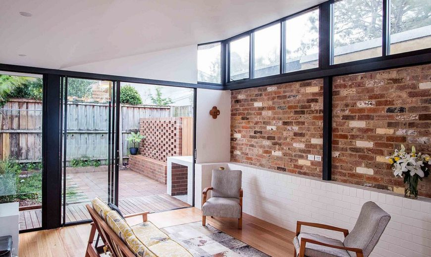 Bound by Brick: Urbane Modern Renovation of Inner City Worker's Cottage