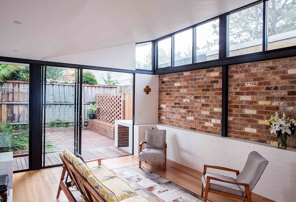 Modern renovation of inner city cottage in Annandale, Australia