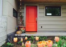 Orange-door-gives-the-gray-exterior-a-stylish-focal-point-217x155