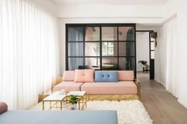 Adaptable Apartment Revamp Embraces both Pastels and Dazzling Jewel Tones!