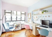 Scandinavian-home-office-enlivened-with-pastel-pink-and-blue-217x155
