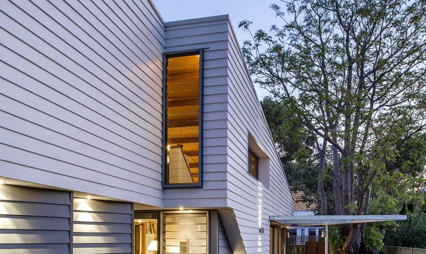 Sussex Street House: Steel and Timber-Framed Modern Suburban Home