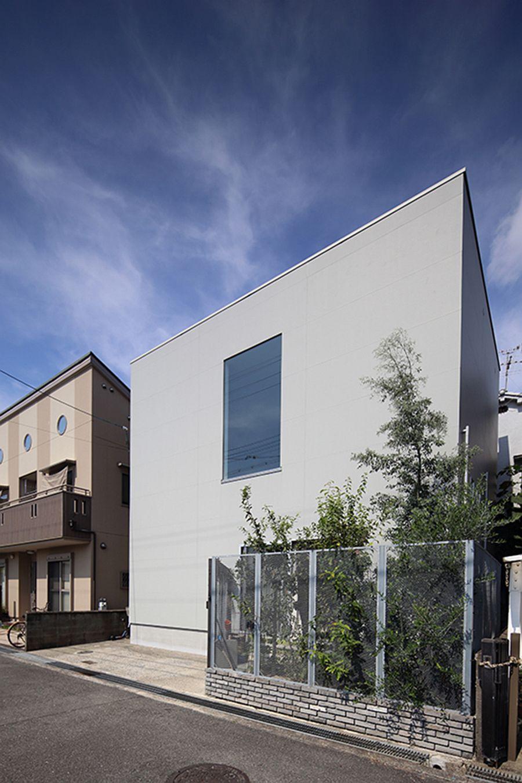 Street facade of House in Takatsuki