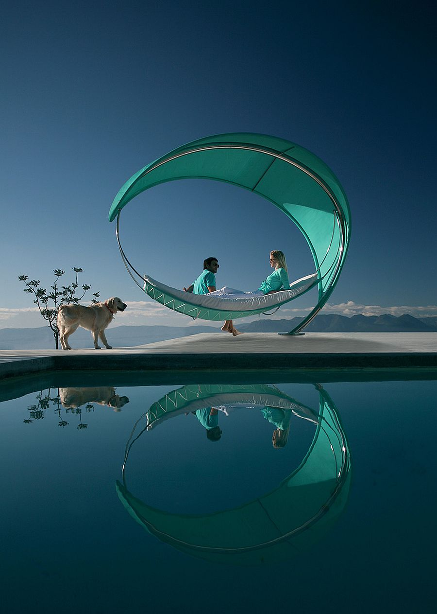 Stunning and relaxing outdoor hammock Wave from Royal Botaia