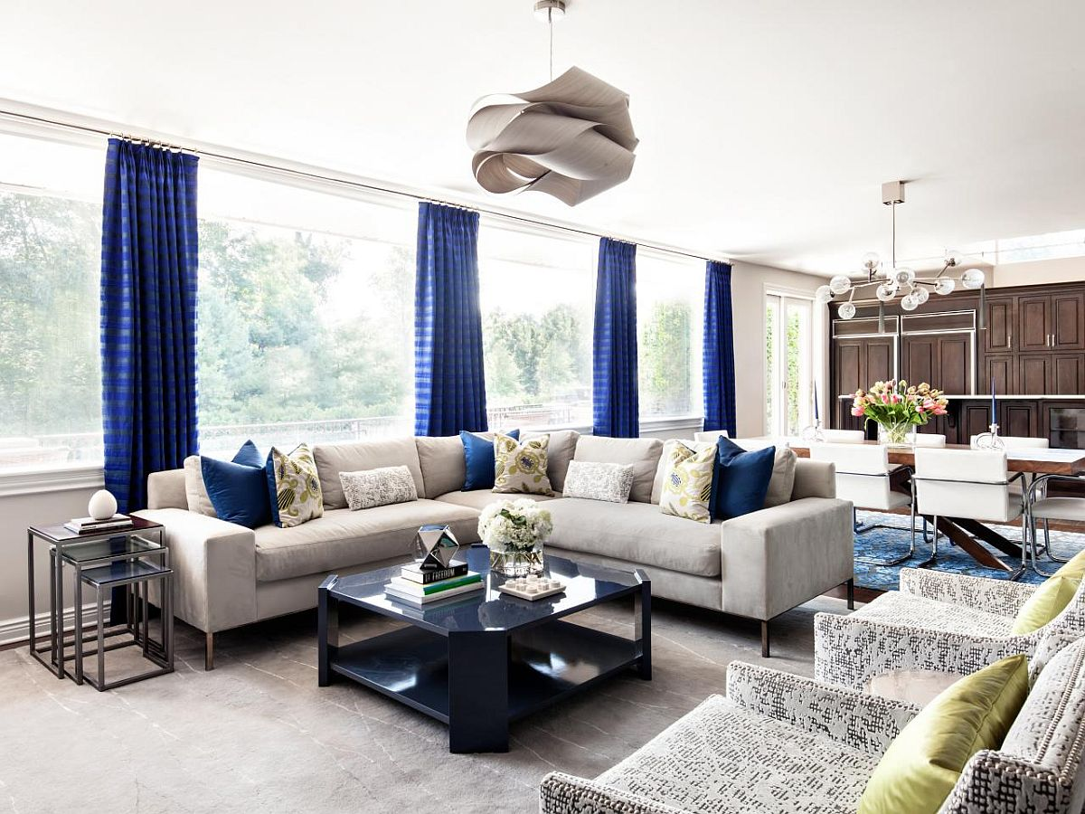 15 Blue Drapes and Curtain Ideas for a Stunning, Modern Interior