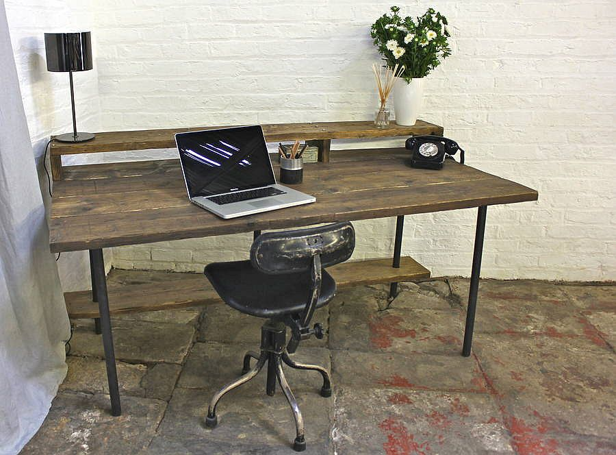 Tovey Reclaimed Scaffolding Desk from Not on the High Street