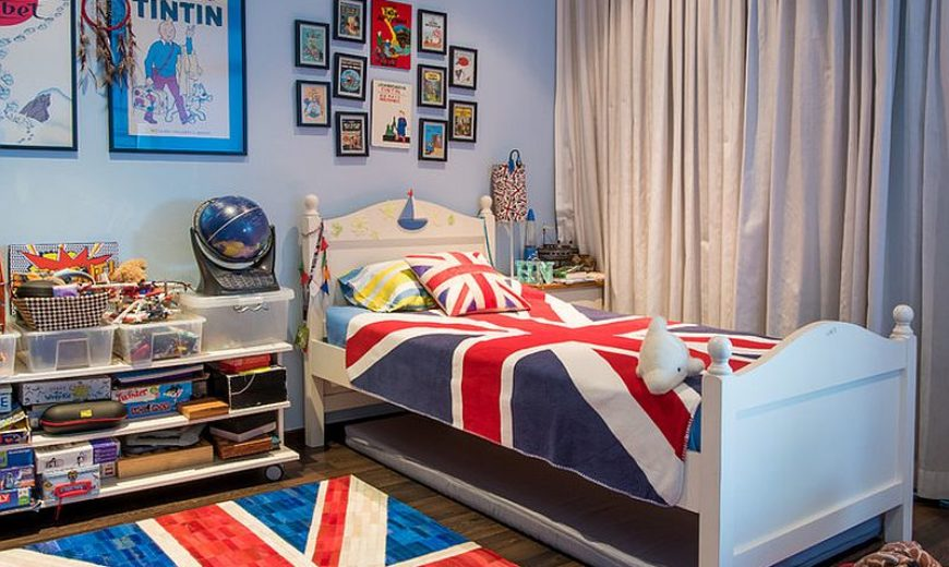 15 Stylish Ways to Add the Union Jack to the Kids Room!
