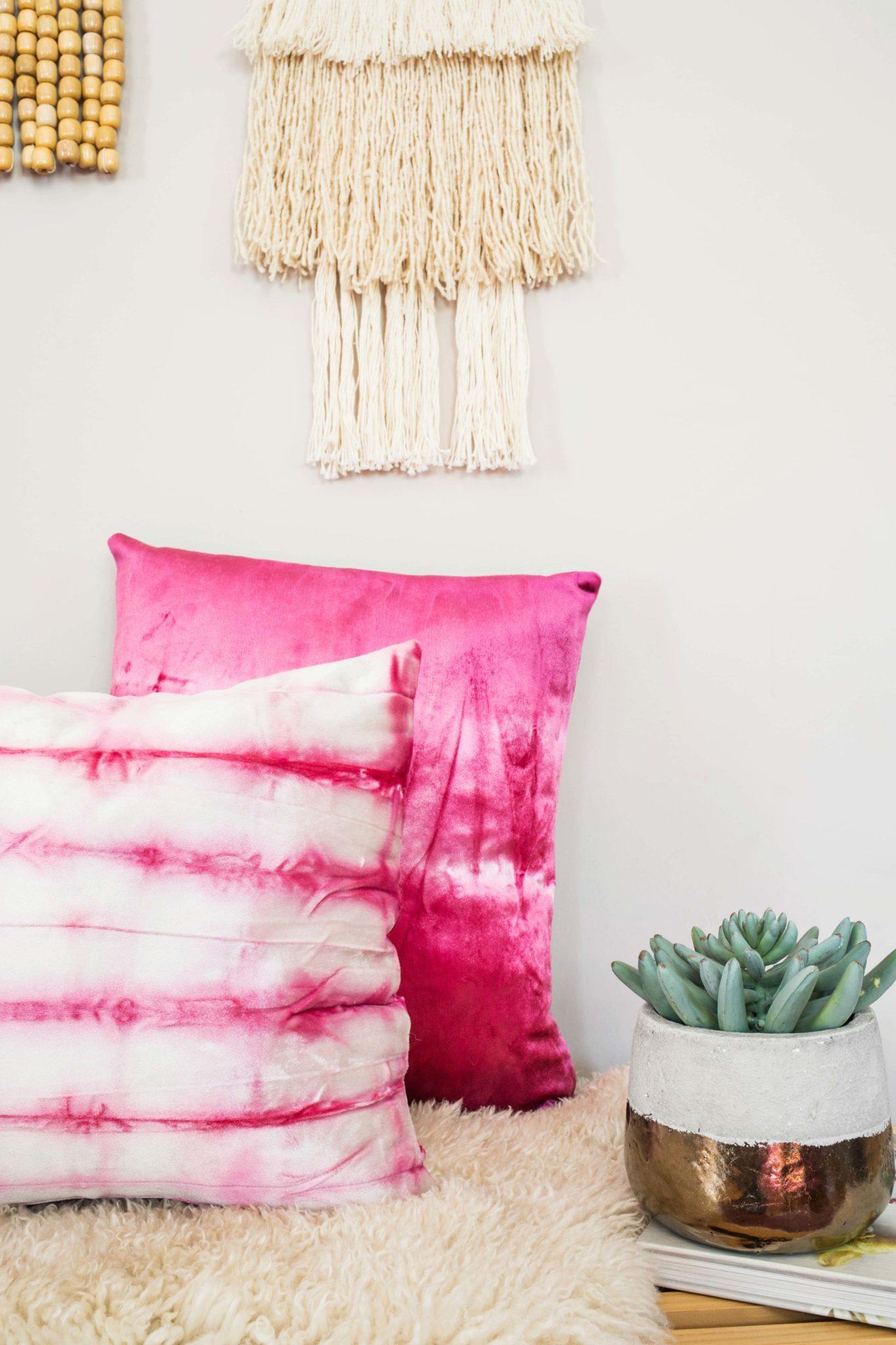 Vibrant-dyed-velvet-pillows