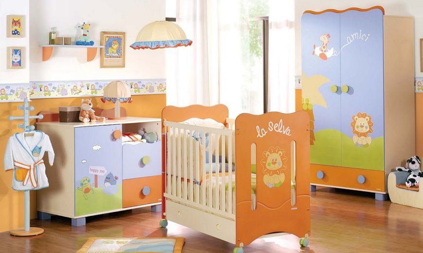 15 Fun and Cheerful Ways to Add Orange to the Modern Nursery