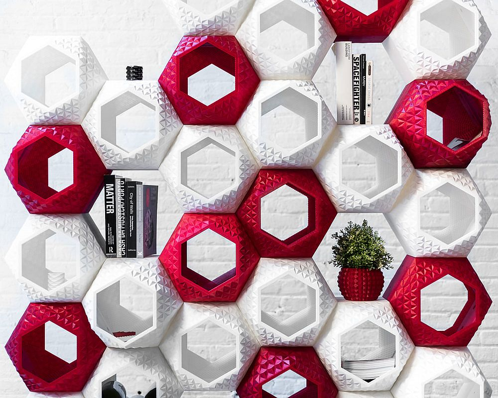 3D printed modular wall system is an absolute show-stopper