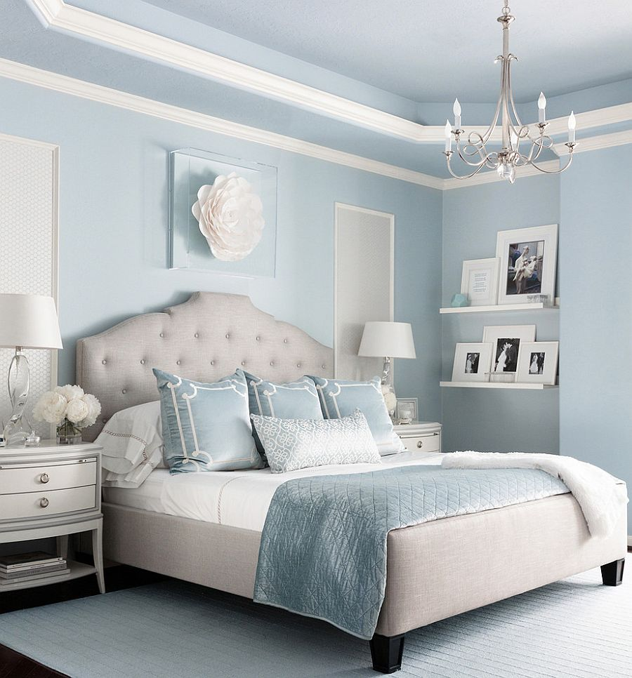 Beautiful Blue Bedrooms: Bedroom Color Trends: Soothing Pastels Hold Sway