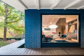 A Mid-Century Modern Recreation: Ocotea House Renovation in Raleigh