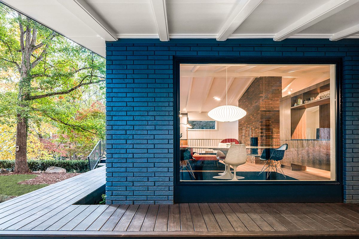 Well known A Mid-Century Modern Recreation: Ocotea House Renovation in Raleigh PE73