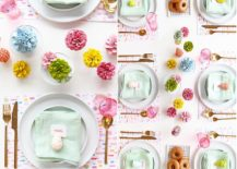 Brilliant-painted-pine-cone-table-runner-DIY-217x155