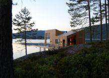 Cabin-on-stilts-on-waters-edge-in-Norway-217x155
