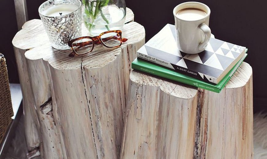 11 DIY Tree Stump Décor Ideas that Usher on a Budget