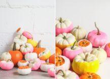 Colorful-Balloon-dipped-pumpkins-DIY-217x155