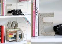 Concrete-letter-bookends-DIY-217x155