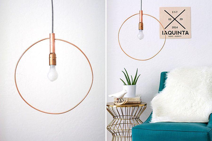 Copper-pipe-hoop-DIY-pendant-idea