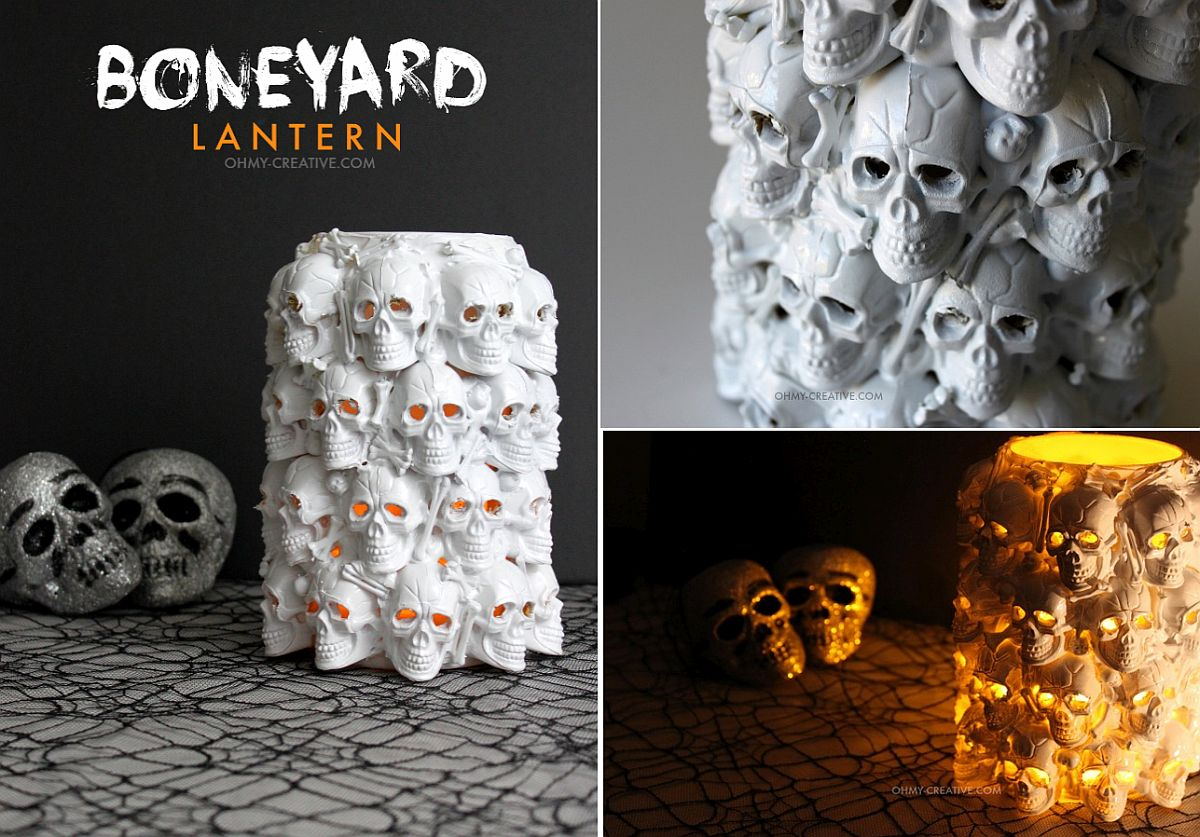 DIY Boneyard Lantern steals the show in its own chilling way!
