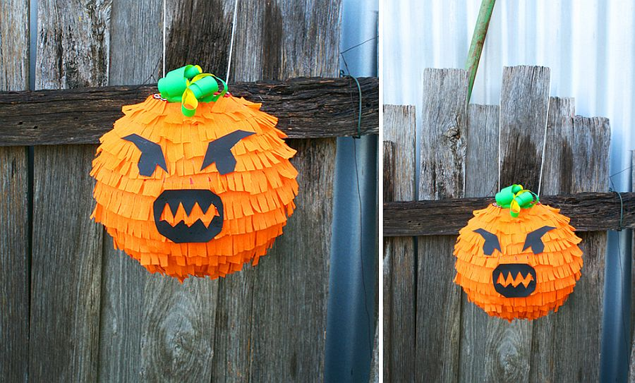 DIY Halloween Pinata is a great Kids' Craft