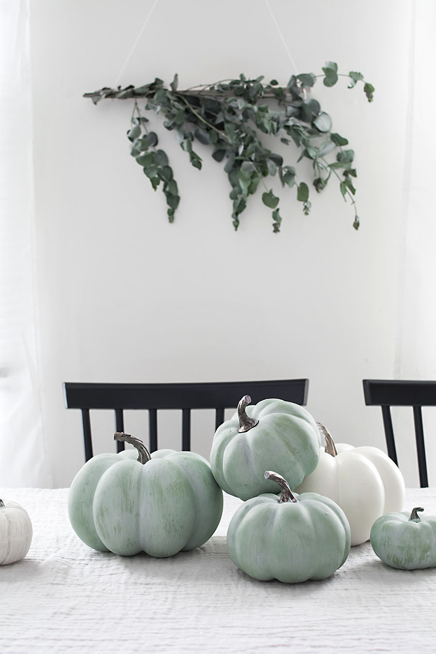 DIY jade pumpkins
