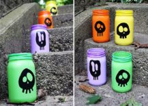 DIY-painted-skull-luminaries-crafted-using-mason-jars-217x155