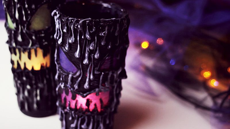 DIY scary Halloween lantern is anything but mundane!