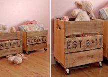 DIY-storage-idea-with-vintage-crates-on-wheels-217x155