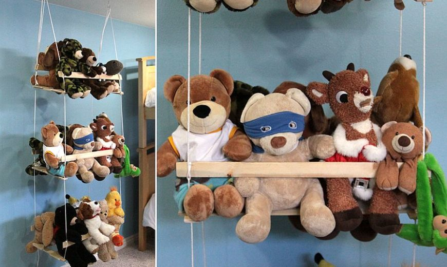11 Space-Saving DIY Kids' Room Storage Ideas that Help Declutter
