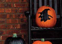 Easy-painted-pumpkin-idea-for-Halloween-217x155