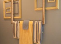 Empty-frames-turned-into-gorgeous-towel-holders-217x155