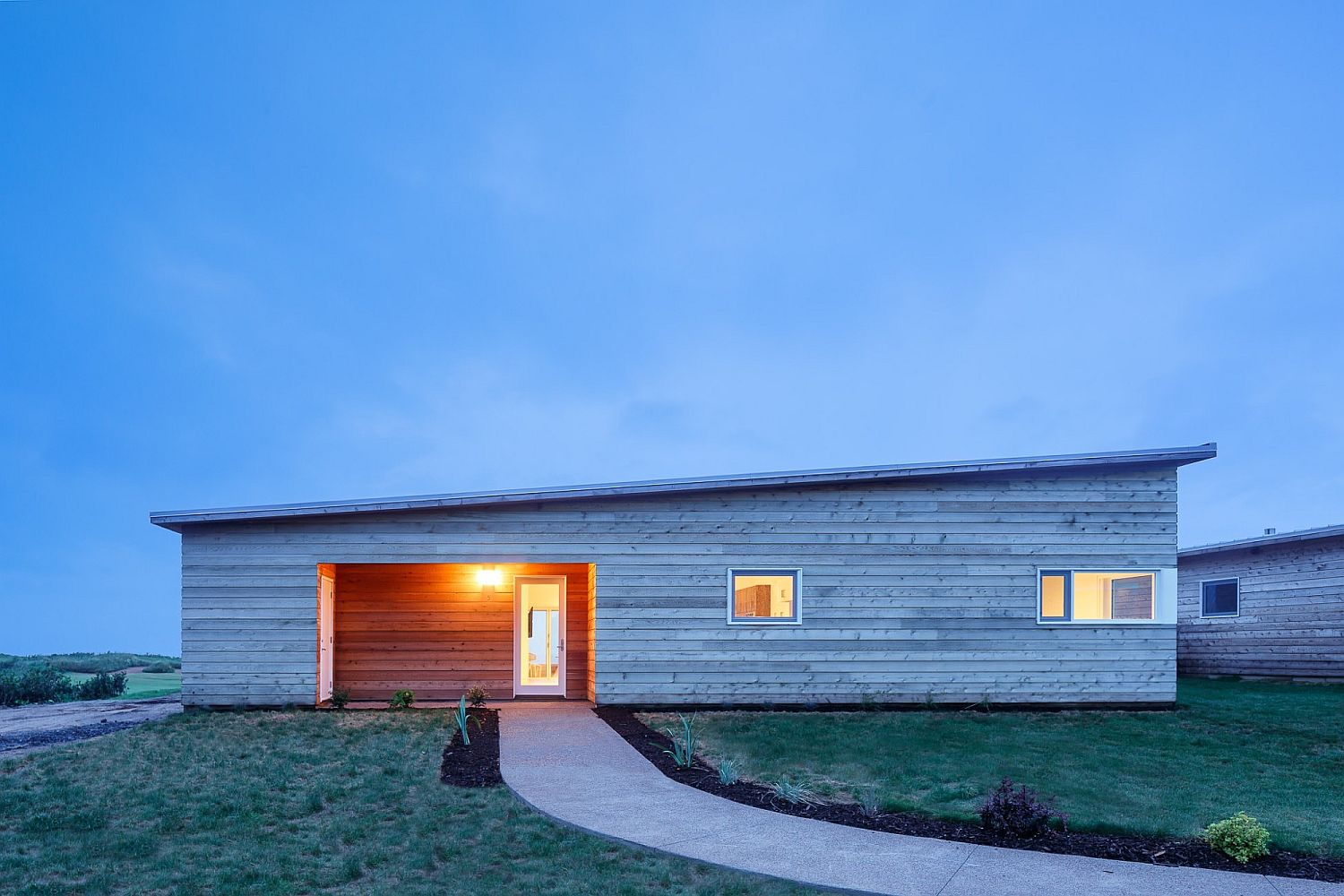 Fabulous modern cabin-style villas at Cabot Links