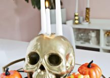 Flashy-Skull-Candle-Holder-DIY-with-Golden-Dazzle-217x155