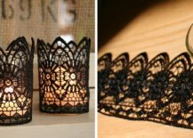 Glass-candles-wrapped-in-lace-make-for-cool-Halloween-decorative-pieces-217x155