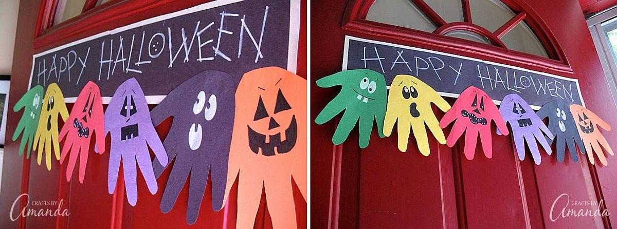 Halloween-Handprint-Ghoul-Banner-DIY-Idea