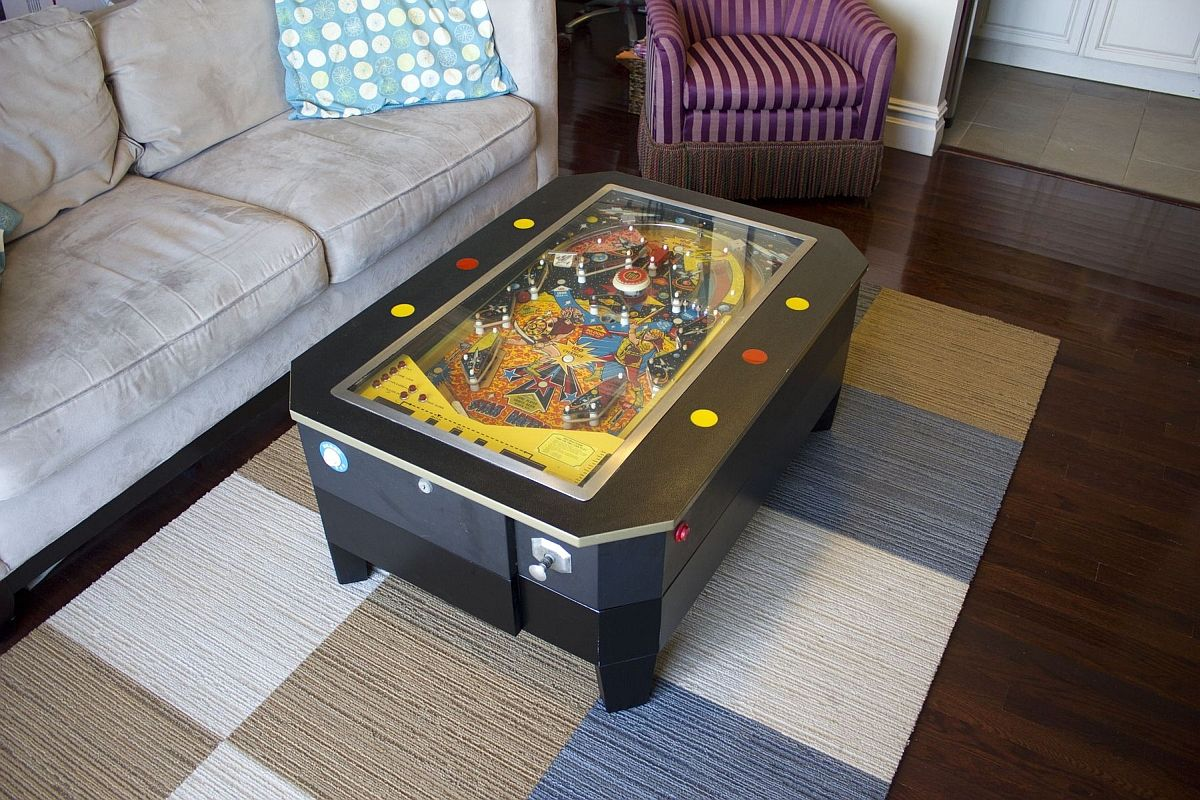 A Classic In Modern Homes Finding Space For Your Pinball Machine