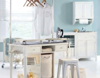 Laundry Room Carts: 12 Mobile and Space-Savvy Ways to Organize!