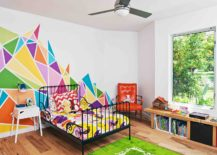 Multi-colored-wall-decal-brings-brightness-to-the-kids-room-217x155