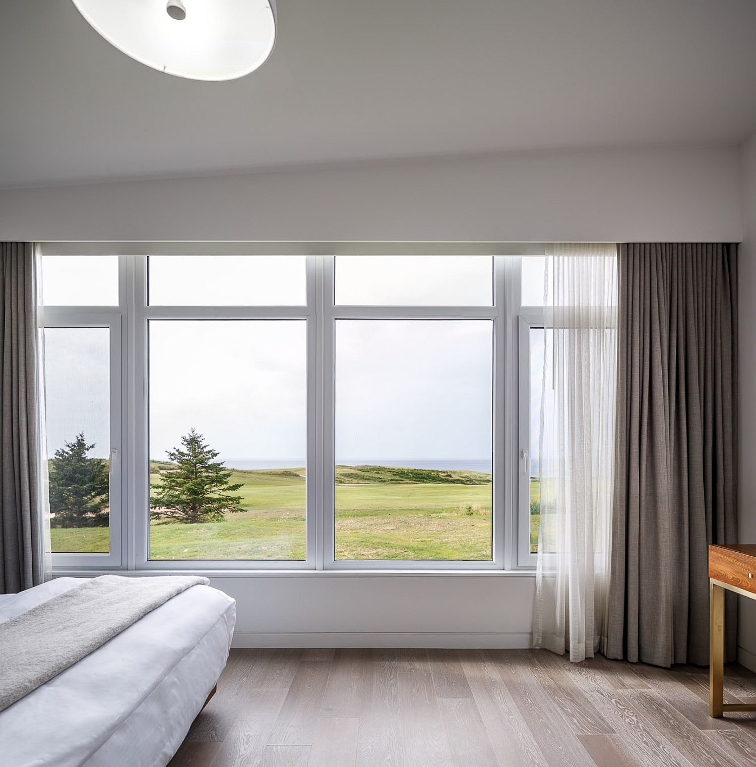 Ocean and golf course views are rolled into one at the Cabot Links