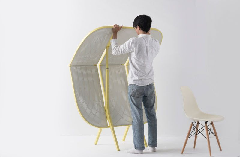 Room divider that can also be used as a bar table