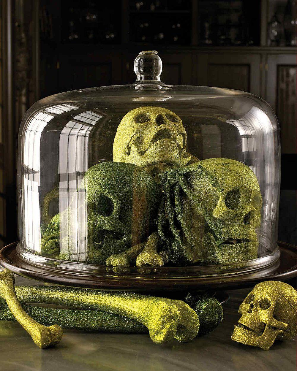 Showcase those fabulous glittering skulls, bones and more!