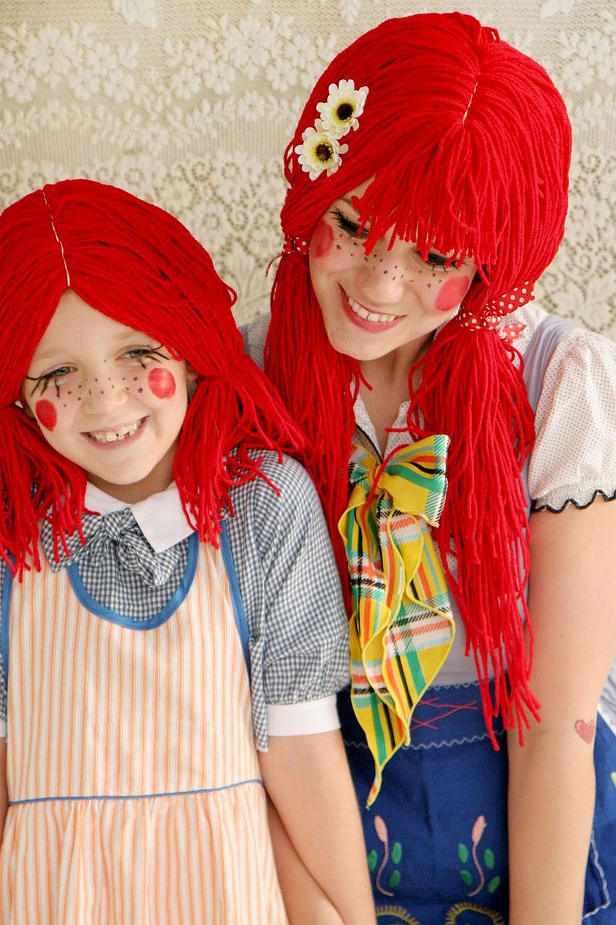 Simple and easy to craft Halloween Rag Doll Costume